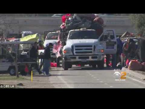 Hazardous Waste Removed During OC Homeless Clean-Up