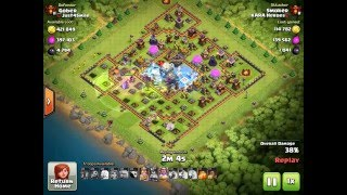 Clash Of Clans / Farming : 89% 2 Stars TH11 (26/04/2016)