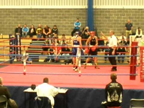 John Stevenson Boxing For Scotland