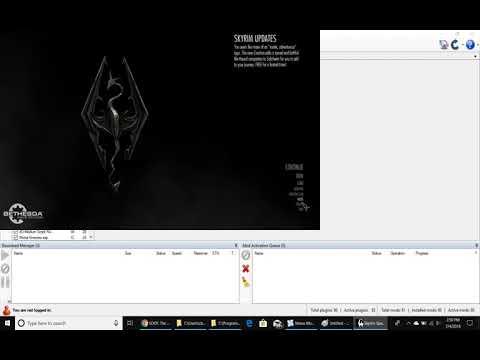 Modding Skyrim SE on PC with Nexus Mod Manager & SKSE - YouTube