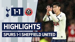 HIGHLIGHTS | SPURS 1-1 SHEFFIELD UNITED