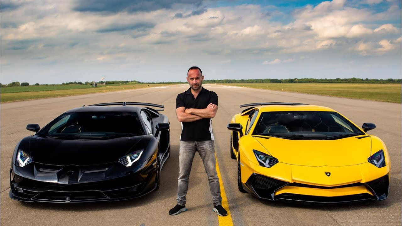 Lamborghini Aventador Svj Drag Races An Aventador Sv The Supercar Blog
