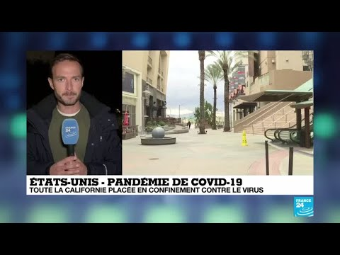 Coronavirus - Covid-19: toute la Californie placée en confinement