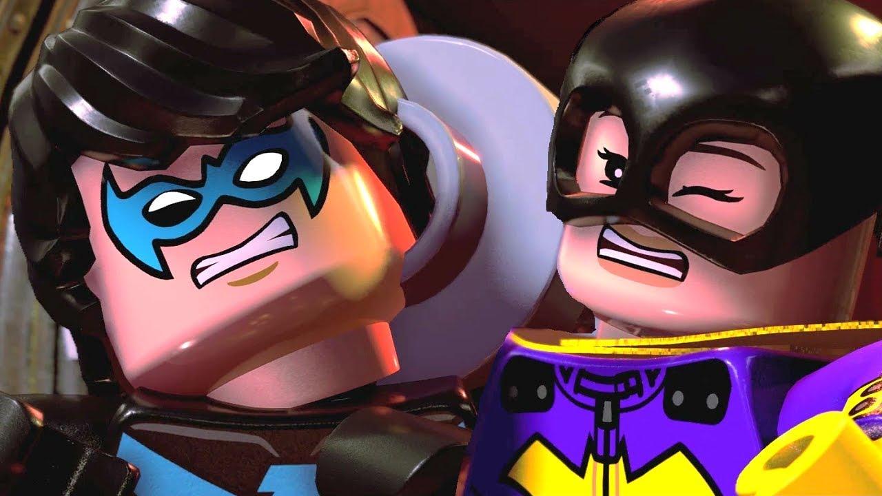 LEGO DC Super-Villains Walkthrough Part 2 - Bank Heist (Clayface, Riddler and Scarecrow)