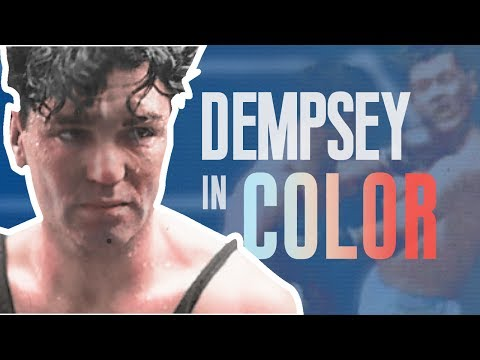 Jack Dempsey In Full Color!