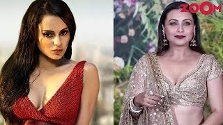 Kangana Ranaut reacts on Rani Mukherjee's #MeToo comment | Bollywood News