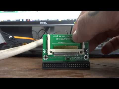 How to build a Naomi Compact Flash Adaptor (and get it running)
