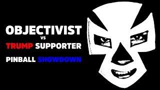 Gambar cover OBJECTIVIST vs TRUMP SUPPORTER - The battle for the Metallica Pinball Machine!