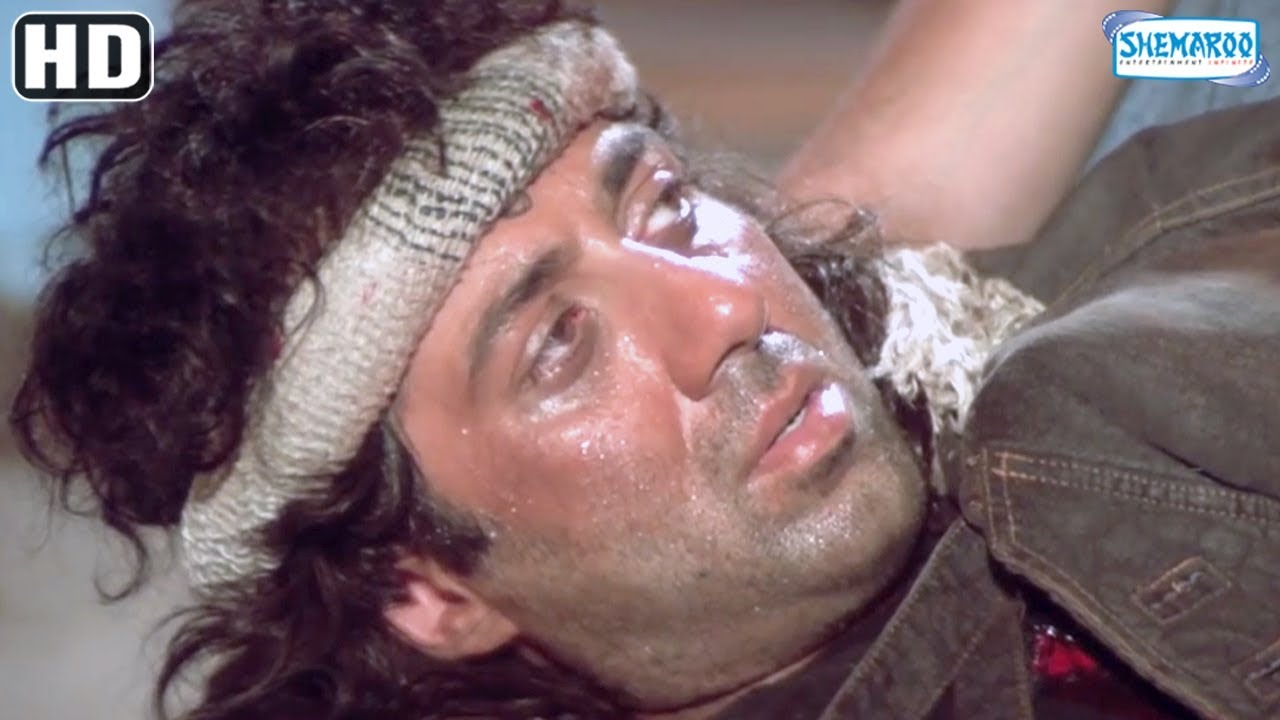 Climax Scene 'Jeet ' (HD ) -  Sunny Deol, Salman Khan, Karisma Kapoor - Superhit Bollywood