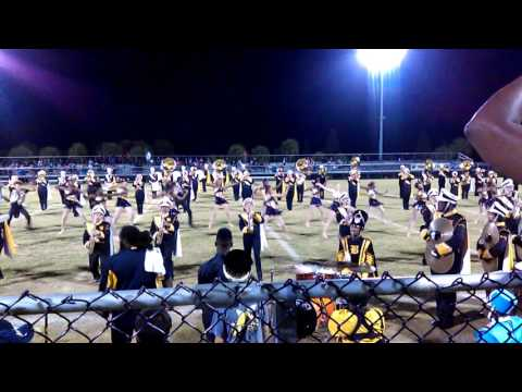 Blake High School marching band 10.30.15