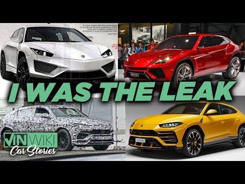 I leaked info about the Lamborghini Urus 5 years ago