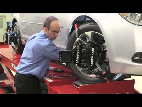 Wheel Alignment With WinAlign® Software By Hunter Engineering®