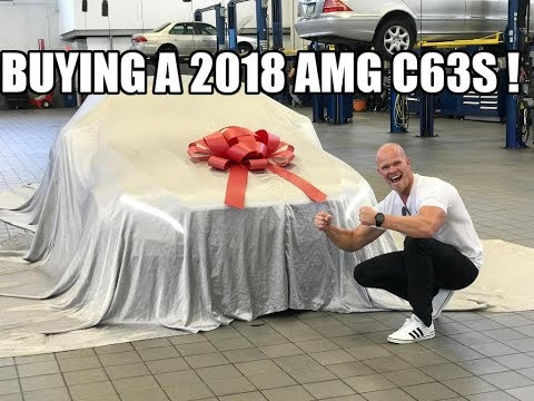 Taking Delivery Of My 2ND Mercedes AMG C63s in 3 MONTHS !