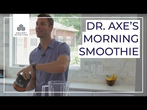 Dr. Axe's Morning Smoothie | Ancient Nutrition