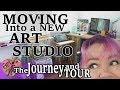 Moving into my NEW Art Studio