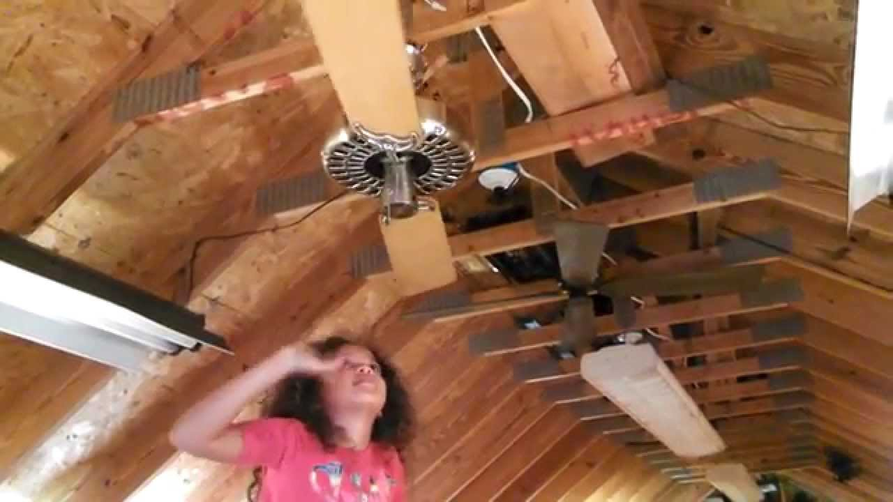 Abby tests a hunter original ceiling fan with two blades youtube abby tests a hunter original ceiling fan with two blades mozeypictures Choice Image