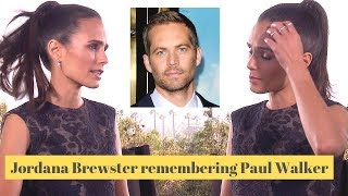 Jordana Brewster talks about breaking down on set (Furious 7)