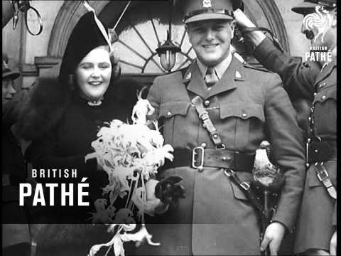 Churchill Wedding 1939