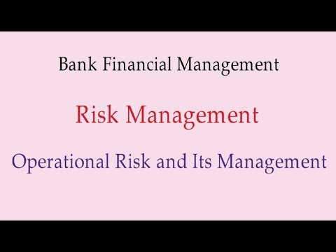 Complete chapter of Operational Risk and Its Management [in Hindi]
