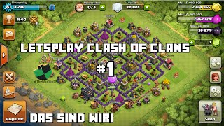 Clash of Clans #1 - Deutschᴴᴰ/ German - Unser erstes Let´sPlay!
