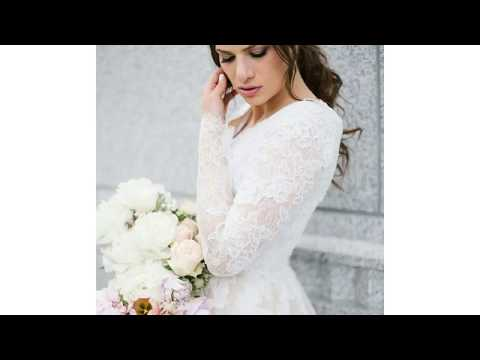 Long Sleeve Modest Wedding Dresses