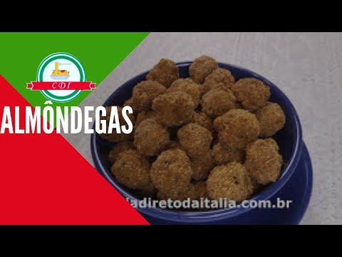como-fazer-almôndegas---receita-italiana---culinaria-direto-da-italia