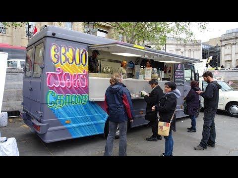"Mysore Masala Dosas' & Paneer Dosas + Samosas by ""Dosa Deli"" Mobile Indian Street Food Truck, London"