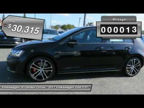 2017 Volkswagen Golf GTI Garden Grove CA HM051393 YouTube