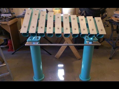 Aluminum xylophone build part 3: details, details.