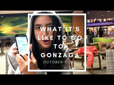 What It's Like To Go To Gonzaga University (not rly): OCTOBER VLOG