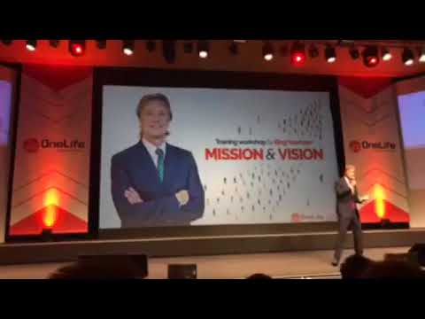 OneLife - Mission & Vision Presentation - Lissabon Event - 7 okt 2017