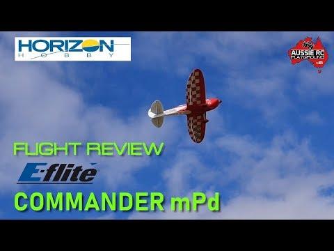 Flight Review: E-Flite Commander MPd 1400mm