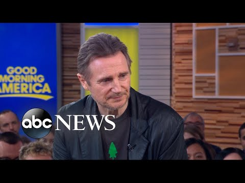 DC - Liam Neeson Denies Being Racist on 'Good Morning America'