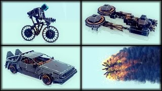 Flying Fireball Drone | Besiege