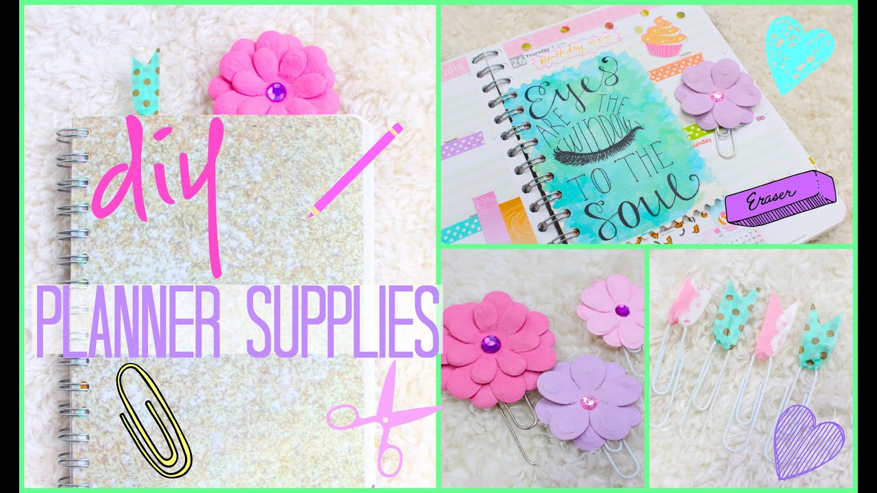 DIY Planner Supplies & How to Make More Space! | # ...