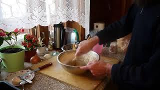 Мультизерновой хлеб на ржаной закваске. (без термофильных дрожжей)