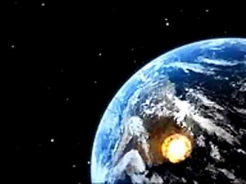 Earth Impact -  Earth asteroid impact animation