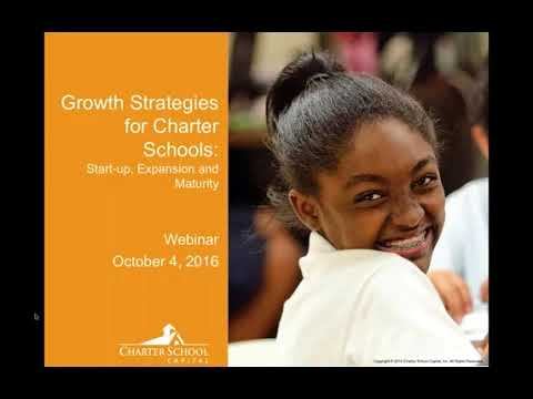 Growth Strategies for Charter Schools — Start up, Expansion, Maturity