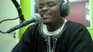 Young-I Mozambican MC interview on Rhythm100 Radio