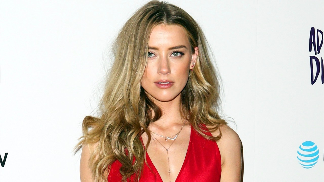 Amber Heard shares first photo of Mera from 'Aquaman'