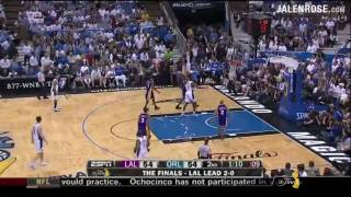 Lakers vs Magic Game 3 Highlights - 2009 NBA Finals - Orlando beats LA 108-104