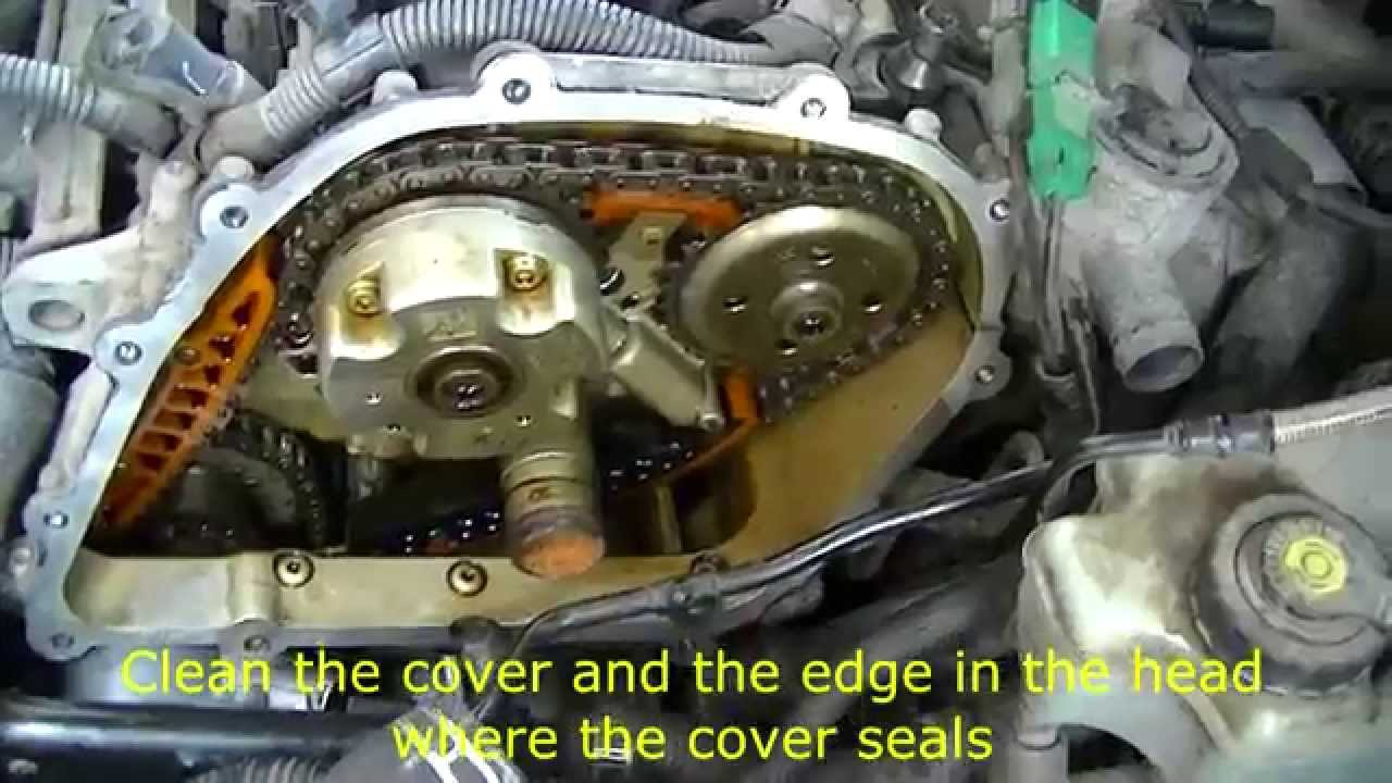 VW 25 L engine removing timing cover  YouTube