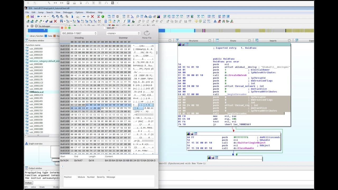 Quick And Dirty Binary Patching With A Hex Editor