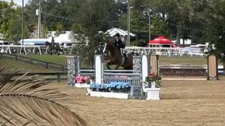 HITS Ocala  Feb 2011 Livin' Large and Emily Caikoski M&S Medal