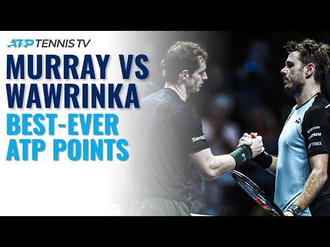 Andy Murray Vs Stan Wawrinka: Best-Ever Shots & Rallies