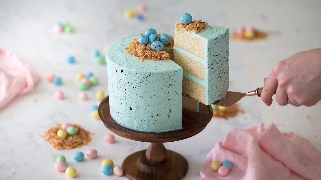 Easter Egg Cake Youtube