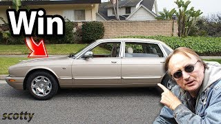 Here's Why this 2002 Jaguar XJ8 is Best Car to Drive in New York City