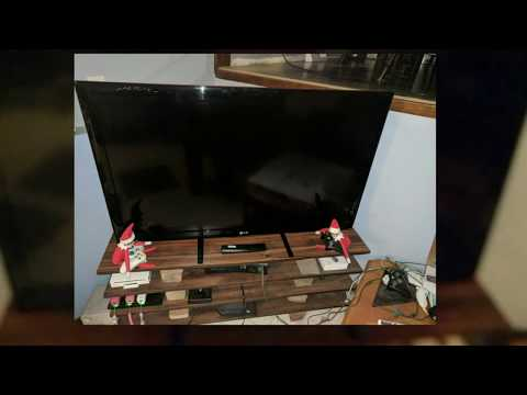 Universal TV stand Install/Review WALI model# TVS001