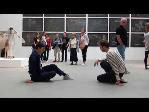 Rudolf Steiner work with dancers singing Venice Binalle, 2013