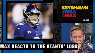 Max Kellerman reacts to the Giants' heartbreaking loss to Washington | Keyshawn, JWill \u0026 Max
